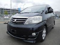 Toyota ALPHARD AS Limited Dual AVN Special, Black, 2400cc, 36 month warranty