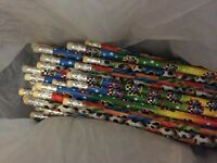 56 football pencils