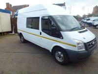 Ford Transit 2.2TDCi Duratorq ( 115PS ) 350L High Roof Van 350 LWB MESS CREW VAN