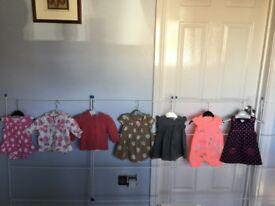 Baby Girls Bundle Age 0/3 Months