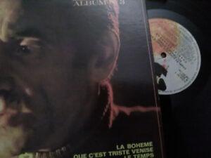 Disque vinyle de Charles Aznavour ( chante en stéréo album no 3)