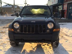 2006 Jeep Liberty Limited 125000km Only!