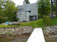 Beautiful Lakefront Modern Cottage/ Home Only 1 hr from the GTA