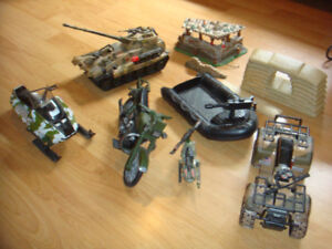 GI JOE ACTION FIGURES AND ACCESSORIES AND VEHICLES & MORE
