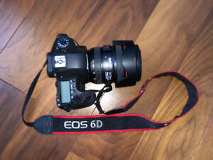 Canon 6D with 24-70mm f4 L IS USM Lens