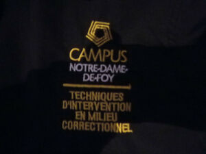 Vêtements Tech. d'Intervention milieu correctionnel Campus