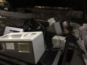 Free Pick up  e Waste 24/7 Batteries Steel metals-cars-machinery