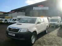 Toyota Hilux 2.5 D-4D Active Double Cab Pickup 4WD 4dr Pickup Diesel Manual