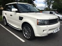 2010 (60) Range Rover Sport 3.0 HSE / 46k FLRSH / 12 months MoT / 3 month warranty / *** IMMACULATE