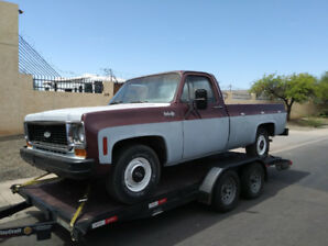 1974 Chevy C10 Custom pickup, original paint, 60, miles