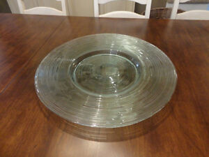 "20"" Diameter Perfect Shape Decorative Glass Bowl / Platter Kitchener / Waterloo Kitchener Area image 1"