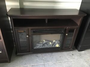 Electric Fireplace and Media Center