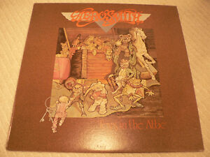 Aerosmith Toys in the attic signed