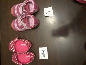 Souliers/sandales bébé fille