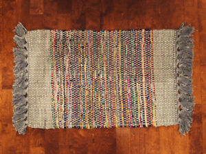Selling: Colourful Rug with Tassles