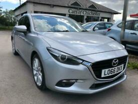 image for 2016 Mazda 3 2.0 SPORT NAV petrol automatic 1 owner 27,000 miles 130 tax Hatchba