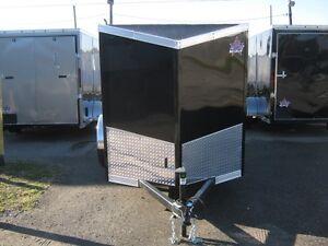 "Enclosed 5 x 8 + 18"" Slant VnoseTrailer With Rear Door Oakville / Halton Region Toronto (GTA) image 2"