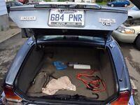 Jaguar XJ12 vanden plass .. Sort tout droit d'un storage 10 ans