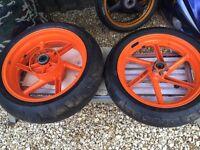 fireblade rrt wheels tyres 1996