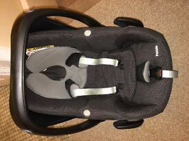 Maxi cosi pebble car seat &a car seat case