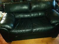 Leather couch and loveseat for sale