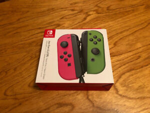 Nintendo Switch Joy Con Pink Green