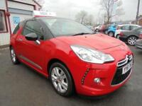 CITROEN DS3 1.6 VTI DSTYLE Red Manual Petrol, 2012