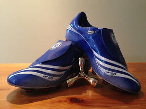 Adidas F50 Tunit Chelsea Edition Soccer Shoes Size 8 1/2