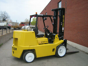 Hyster Forklift 15,500LB Cushion Fork Lift Truck
