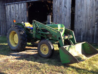 1630 John Deere Tractor with Loader