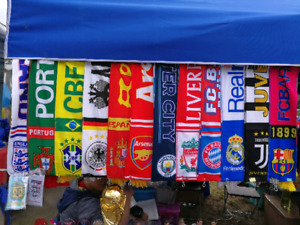 World Cup National Scarfs Clubs