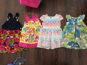 3T girls summer clothing lot - 44 pieces