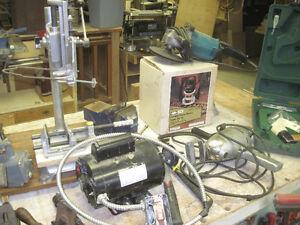 Home renovation, woodworking and mechanics tools