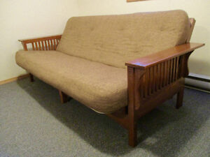 Wood Frame Couch Bed