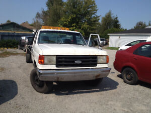 1989 Ford F-350  Towing