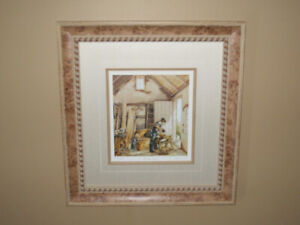 Trisha Romance and Laura Berry Framed Limited Edition Prints