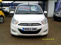 Hyundai I10 1.2 ACTIVE (white) 2013