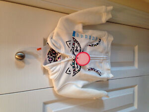 Baby girl hoodie from children's place. NWT 9-12 mths