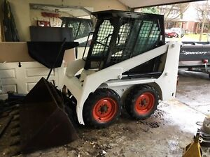 Trade bobcat for 4x4 atv or side by side