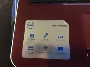Dell inspiron 17.3 inch laptop