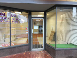 Store Space for Lease/Rent