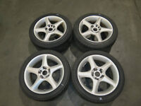 JDM 16 Erglanz Rims Wheels, Mags, Staggered, 5X114.3 & 5X100