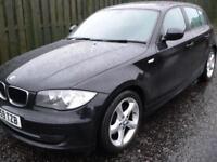 BMW 118 2.0TD 2009 d Sport Black / Long Mot / One Owner from New