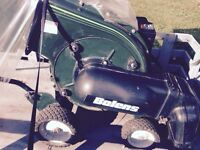 Leaf Vac and Chipper made by Bolen's