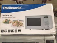New Graded Panasonic Microwave Oven 20L - Silver