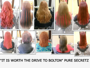 HAIR EXTENSIONS*HALF PRICE OF GL & OURS WILL LAST OVER 1 YEAR London Ontario image 10