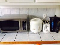 Moving sales microwave rice cooker water heater