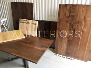 Solid Wood Table Tops for Restaurant, Coffee Shop, Bar, Pub