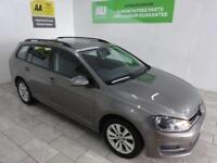 GREY VOLKSWAGEN GOLF ESTATE TDI BLUEMOTION TECHNOLOGY **from £154 per month**