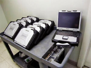 RUGGED METAL Panasonic Toughbook CF-30 MIL-SPEC laptop